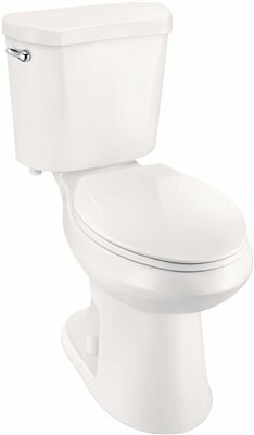 High Efficiency All-in-One 1.28 GPF Elongated Two-Piece Toilet by Premier Faucet