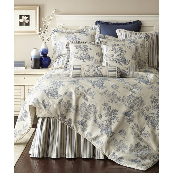 Cosmopolitan Toile Comforter Set by Austin Horn Classics