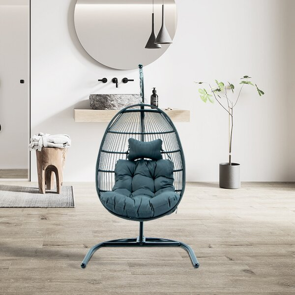 Mclaren Swing Chair with Stand by Bayou Breeze