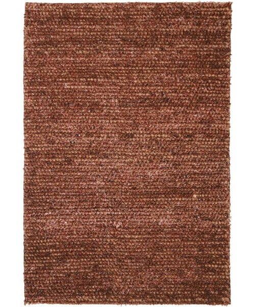 Shannon Hand-Woven Brown Area Rug by Meridian Rugmakers