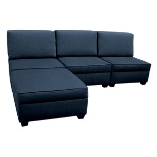 Attica Modular Sectional with Ottoman