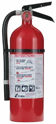Kidde - Pro Series Fire Extinguishers 4Lb Abc Pro210 Fire Extinguisher: 408-21005779 - 4lb abc pro210 fire extinguisher by Kidde