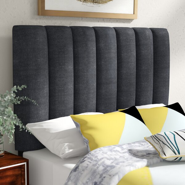 Mcmaster Queen Upholstered Panel Headboard by Modern Rustic Interiors