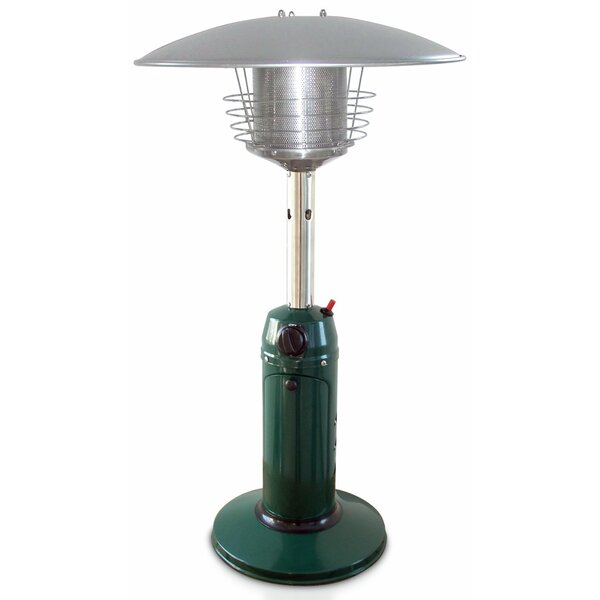 11,000 BTU Propane Tabletop Patio Heater by Garden