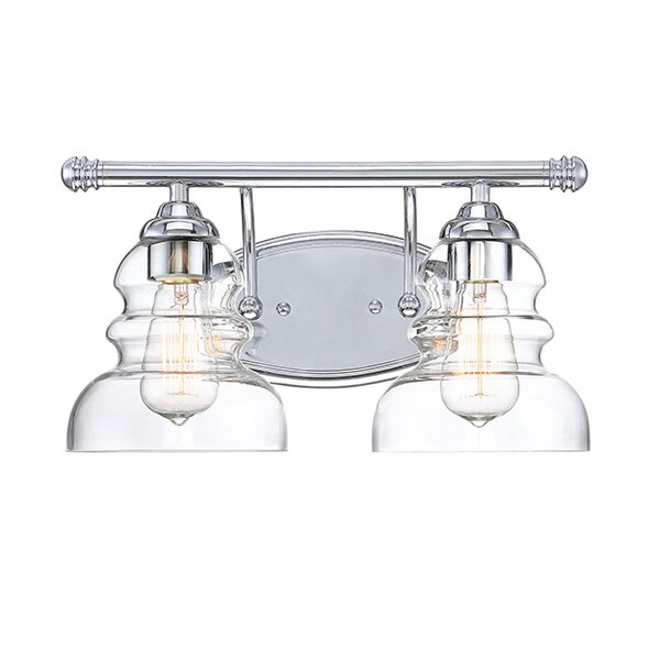 Jayla 2-Light Vanity Light by Beachcrest Home