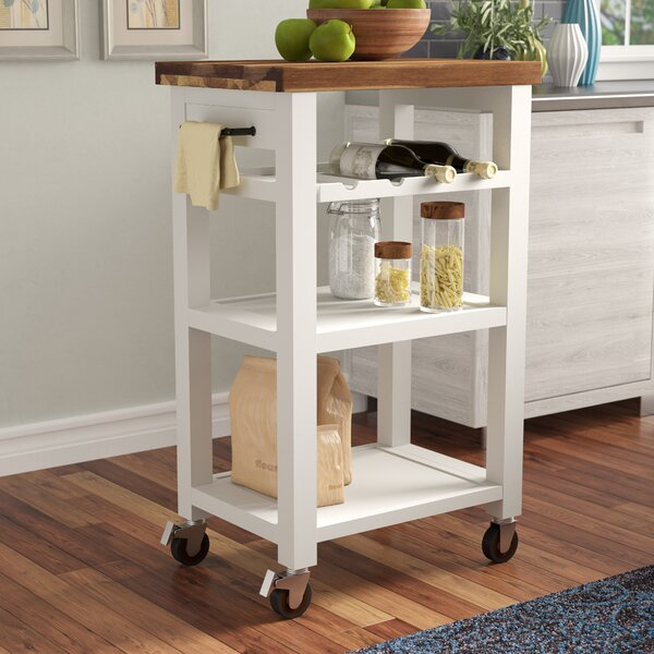 Corinna Kitchen Cart by Red Barrel Studio