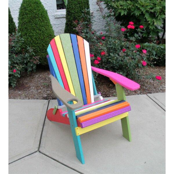 Ibrahim Plastic Folding Adirondack Chair by Longshore Tides Longshore Tides