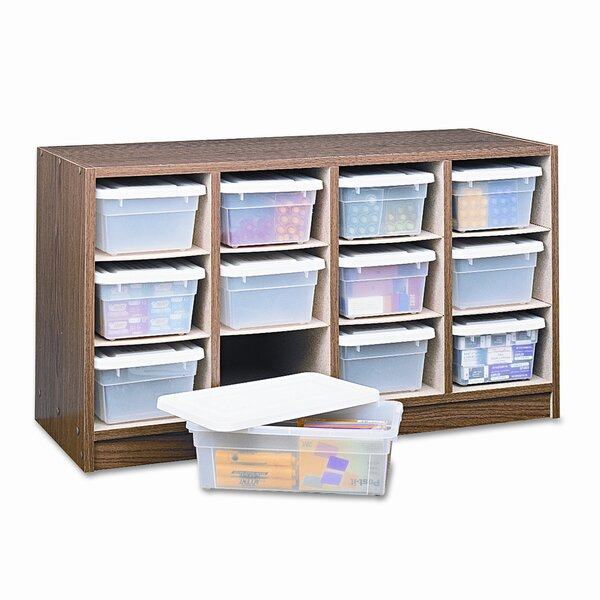 Safco® Modular Supplies Organizer 12 Compartment Cubby with Bins by Safco Products Company