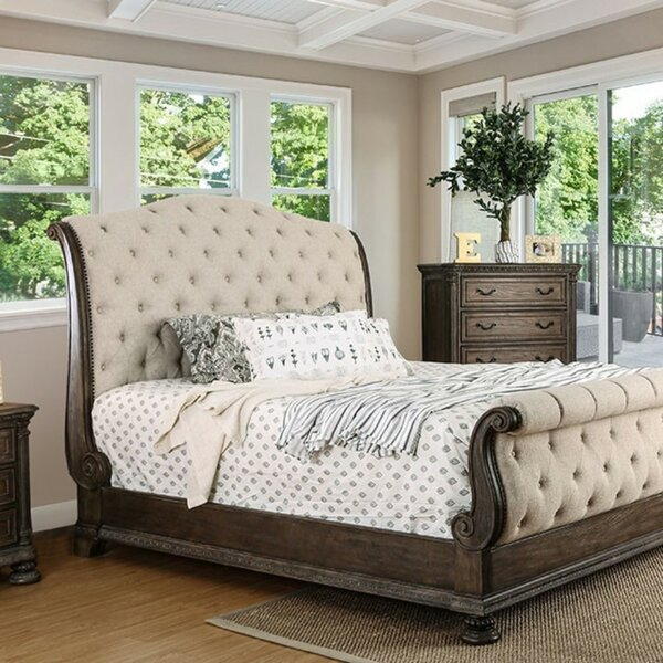 Vincenzo Upholstered Sleigh Bed by Astoria Grand
