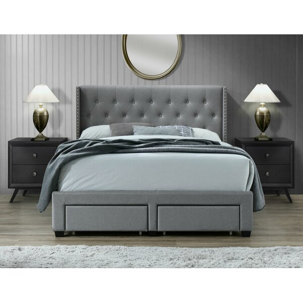 Adella Queen Upholstered Storage Bed by House of Hampton