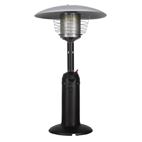 11,000 BTU Propane Tabletop Patio Heater by HomComfort