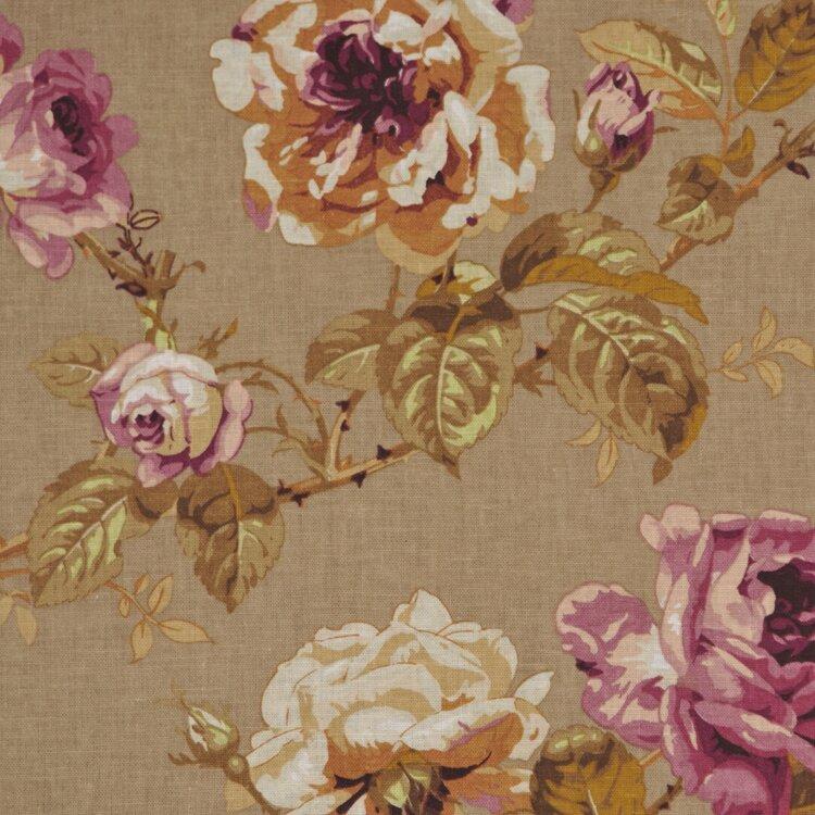 Rm Coco Allure Boutique Foliage Linen Blend Fabric Perigold
