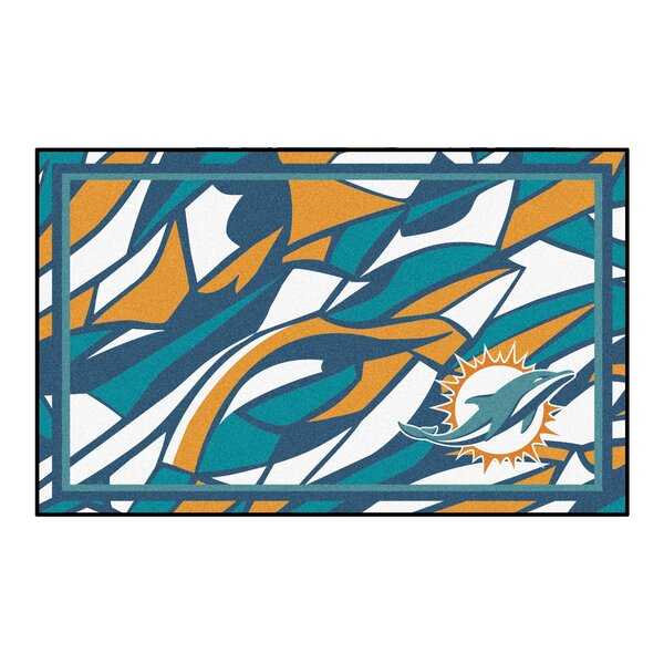 NFL Red Area Rug by FANMATS