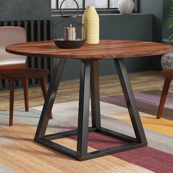 Beckville Round Dining Table by Brayden Studio