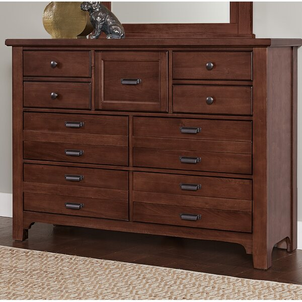 Erving 9 Drawer Double Dresser by Darby Home Co