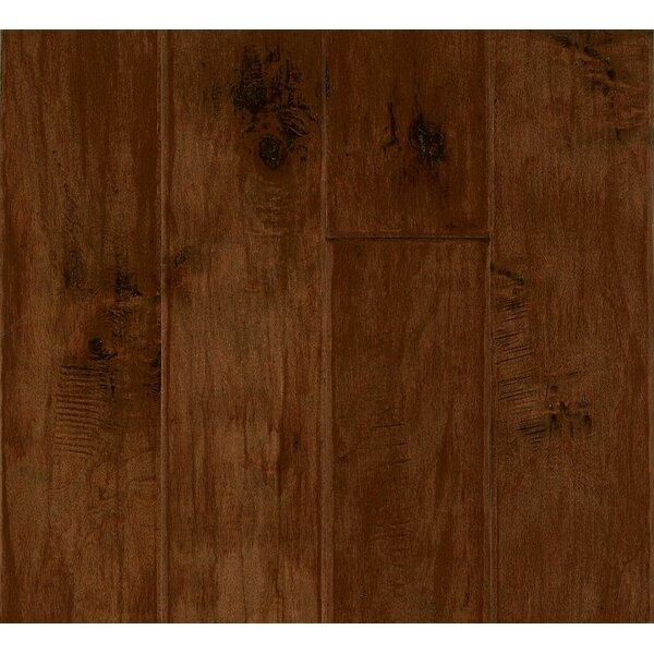 5 Engineered Maple Hardwood Flooring in Burnt Cinnamon by Armstrong Flooring