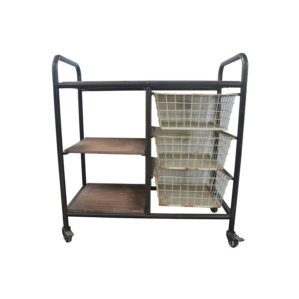 Clinkscales Bar Cart by Williston Forge