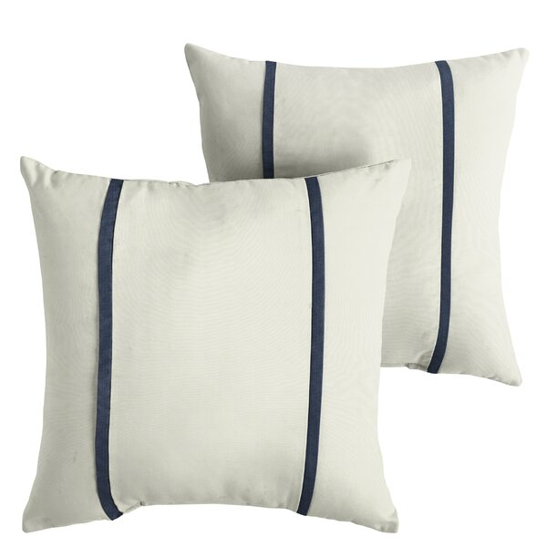 Holle Indoor/Outdoor Sunbrella Throw Pillow (Set of 2) by Alcott Hill