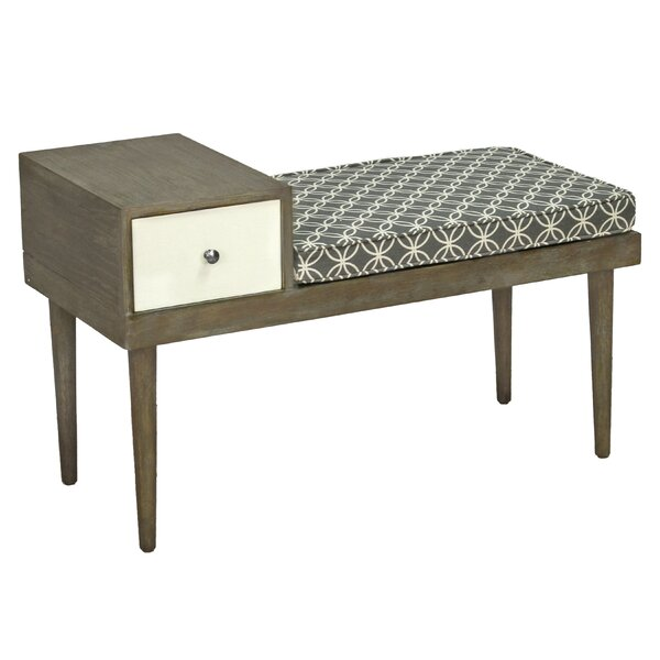 Boston Upholstered Storage Bench by George Oliver