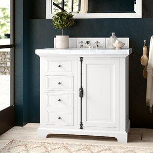 Reviews Ogallala 36 Single Cottage White Bathroom Vanity Set ByGreyleigh