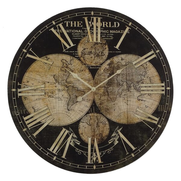 Oversized Adelheid 26.7 Wall Clock by Darby Home Co