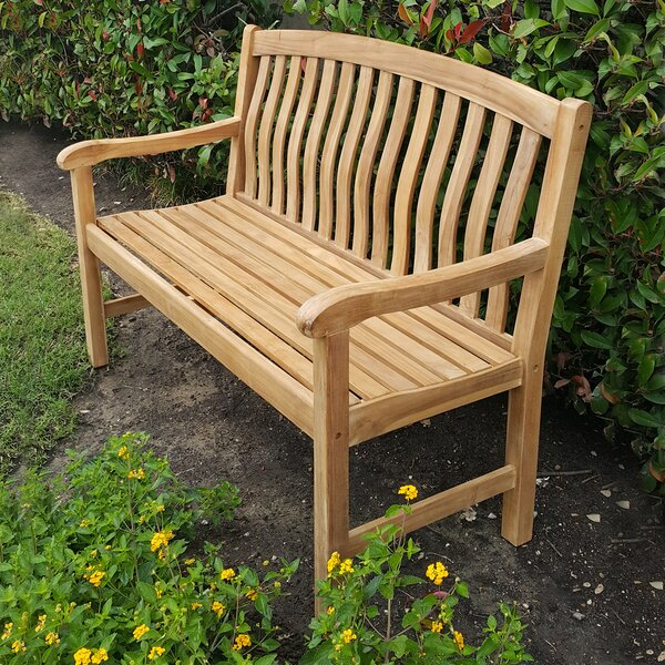 Dittmer Teak Garden Bench by Darby Home Co Darby Home Co