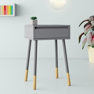 Rhone End Table with Storage