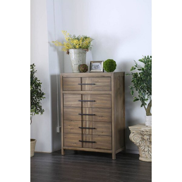 Sanroman 5 Drawer Chest by Red Barrel Studio