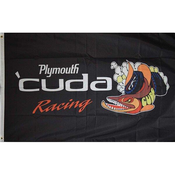 Cuda Plymouth Traditional Flag by NeoPlex