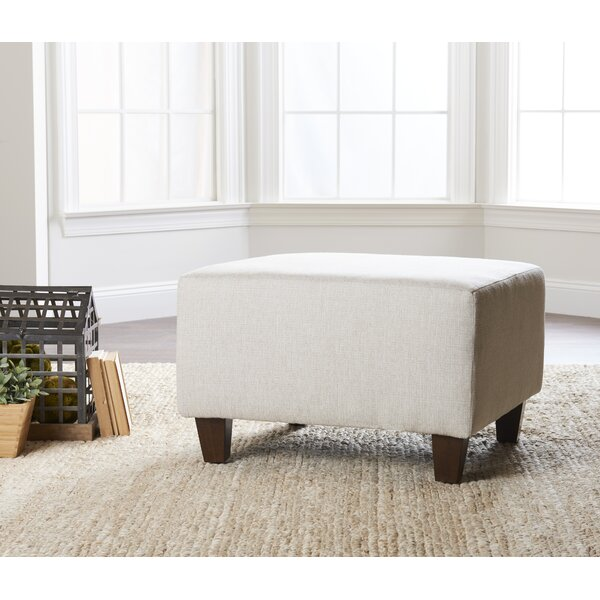 Litzy Ottoman by Wayfair Custom Upholstery Wayfair Custom Upholstery™