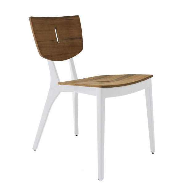 Diuna Stacking Teak Patio Dining Chair by OASIQ