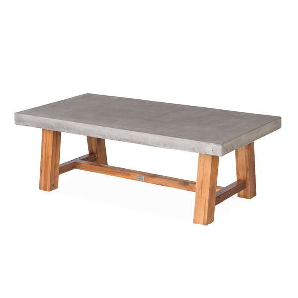 Colegrove Concrete Coffee Table by Foundry Select