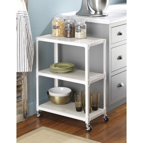 3- Shelf Metal Rolling Utility Cart by Whitmor, Inc