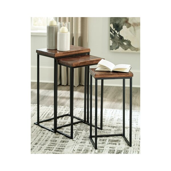 Frenette 3 Piece Nesting Tables By Union Rustic
