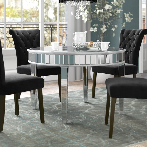 Orpha Round Dining Table by Rosdorf Park