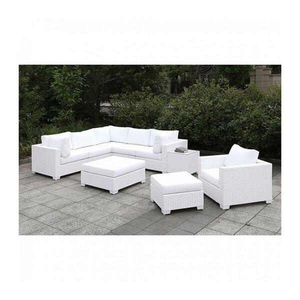Bismark 5 Piece Sectional Seating Group With Cushions By Brayden Studio by Brayden Studio Modern
