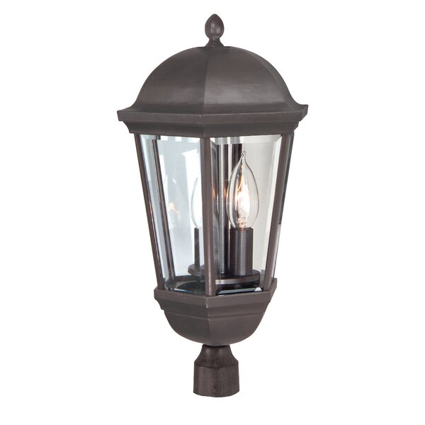 Oakhill 3-Light Bronze Lantern Head by Charlton Home