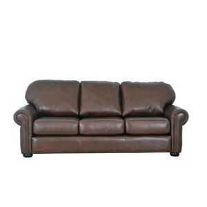 Heath Leather Sofa by Westland and Birch
