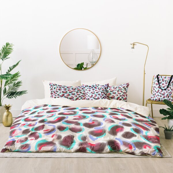 Jacqueline Maldonado Leopard Cool Duvet Cover Set