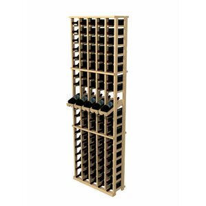 Rustic Pine 100 Bottle Wall Mounted Wine Rack by Wine Cellar Innovations