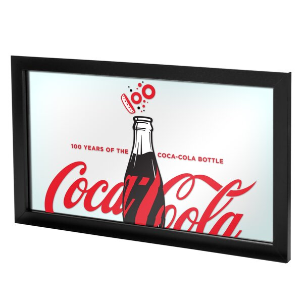 Coca-Cola 100th Anniversary Accent Mirror by Trademark Global