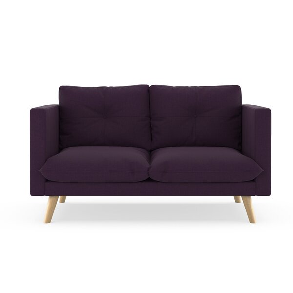 Rockton Cross Weave Loveseat By Brayden Studio