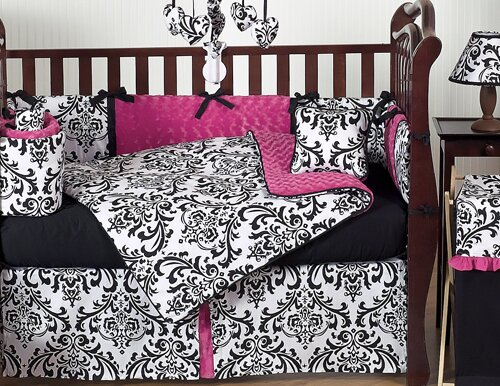 Isabella Fitted Crib Sheet by Sweet Jojo Designs