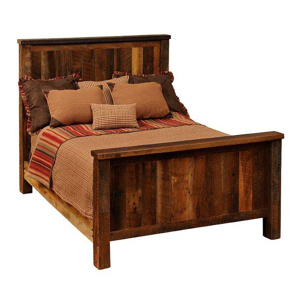 Reclaimed Barnwood Standard Bed by Fireside Lodge