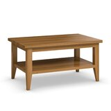 Grenier Solid Wood Coffee Table with Storage by Red Barrel Studio®