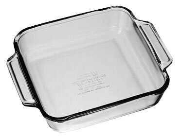Oven Basics Square Cake Pan (Set of 3) by Anchor Hocking