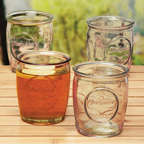 Hauptstueck 14 Oz. Whiskey Glass (Set of 4) by August Grove