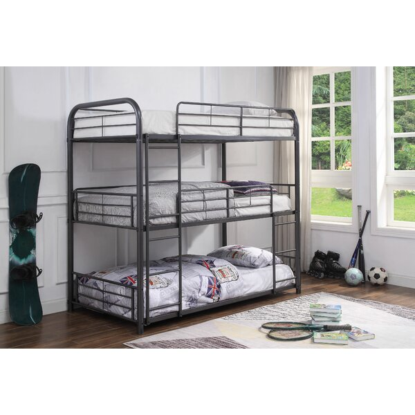 Jonina Triple Bunk Bed by Harriet Bee