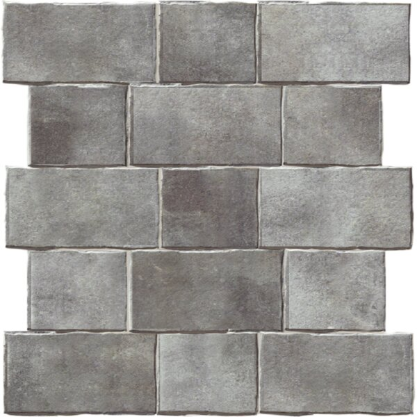 Geo-Tech Extruded 9 x 9 Porcelain Field Tile in River