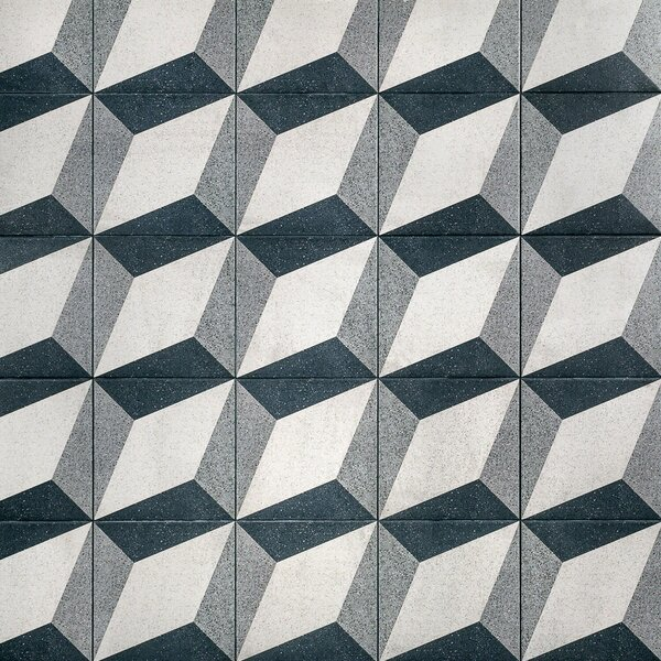Branwell 9 x 9 Porcelain Field Tile in Klee by Splashback Tile